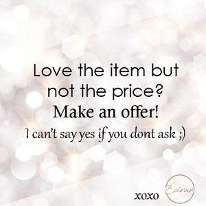 Make an offer ❣️